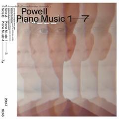 Powell 'Piano Music #1' (EMEGO 301)
