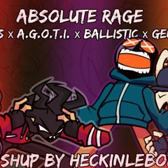 Absolute Rage [Madness x A.G.O.T.I. x Ballistic x Genocide]|FnF Mashup by HeckinLeBork]