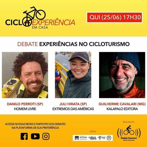 CICLOEXPERIÊNCIA 2020 - EM CASA - EXPERIÊNCIAS NO CICLOTURISMO