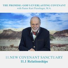 11.1 Relationships - NEW COVENANT SANCTUARY | Pastor Kurt Piesslinger, M.A.