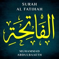 سورة الفاتحة - Surah Al Fatihah
