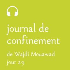 Mardi 14 avril - Journal de confinement - Jour 29