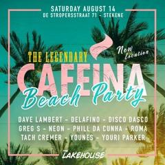 CAFEINA BEACH AUGUST 2021 THE LAKEHOUSE - PHILL DA CUNHA