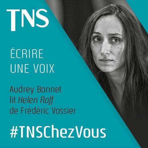 "Audrey Bonnet lit ""Helen Raff"" de Frédéric Vossier"