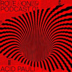 Rote Sonne Podcast 01 | Acid Pauli