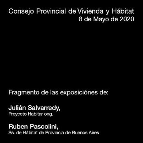 Fragmento de las exposiciones del Consejo Provincial de Vivienda y Hábitat