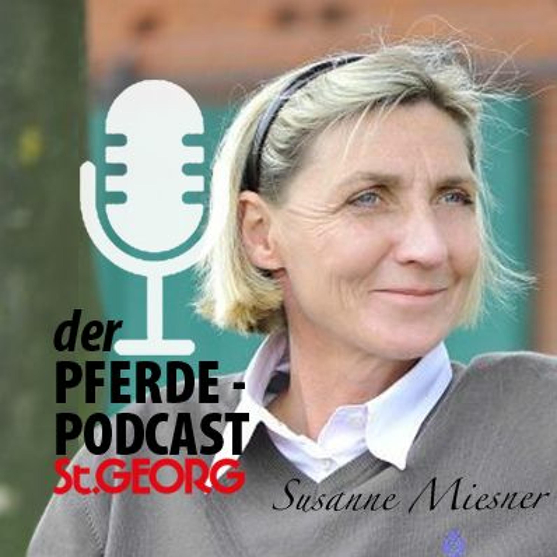 St.GEORG-Podcast: Susanne Miesner und das junge Reitpferd