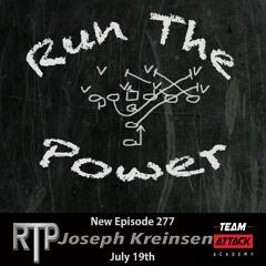 Joseph Kreinsen - Setting Up a Run Game Plan Ep. 277