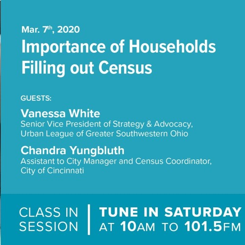 StrivePartnership Class In Session - Importance Of Households Filling Out Census - March 7, 2020