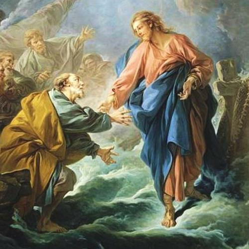 Culte à Saint Pierre de Genève, pasteur Marc Pernot (Matthieu 14:22-34)