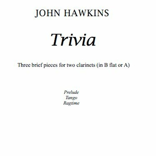 Trivia for two clarinets