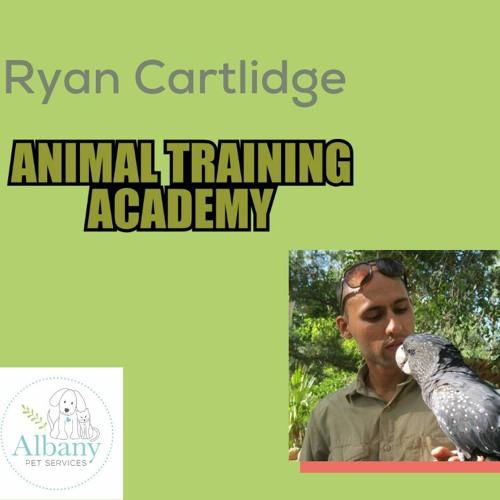 8 - Ryan Cartlidge talks to us about training animals