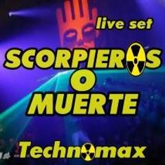 Scorpieros O Muerte by Technomax live set 100x100cds tribute