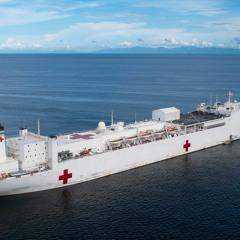 031820 COVID-19, Hospital Ship Comfort, Rikers Outbreak