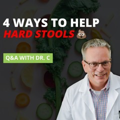 4 ways to help with hard stools