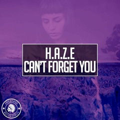 H.A.Z.E - Can't Forget You (Radio Edit)