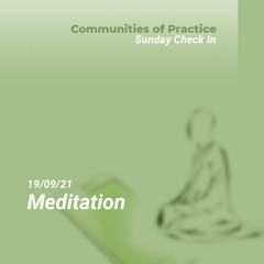Meditation by Dr Jonathan Page