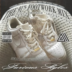 91% footwork mix for accidental meetings... mixed live by furious styles