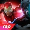 Rap do Homem de Ferro, Batman e Arqueiro Verde - SEM PODERES | NERD HITS | #DropGameOver