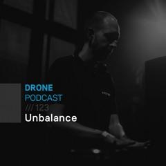 Drone_Podcast 123 /// Unbalance