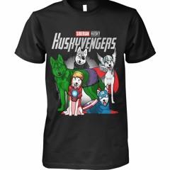 Huskyvengers Siberian Husky Avengers Marvel shirt