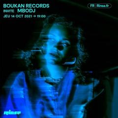 Boukan Records invite Mbodj - 14 Octobre 2021