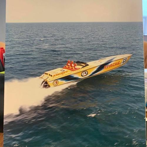 Ben Kramer Apache Powerboat 47