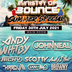 MINISTRY OF BOUNCE AND CLUBLAND ANTHEMS SUMMER SPECIAL PROMO