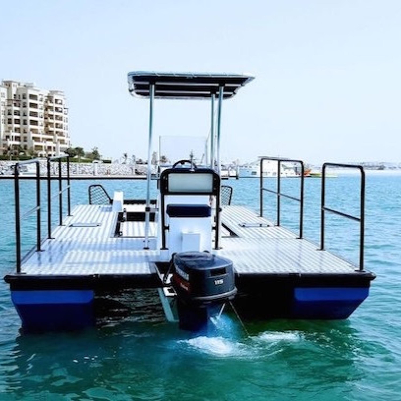 Autonomous Boat Cleans the UAE Shores with Shamsa Al Naqbi (25.08.21)