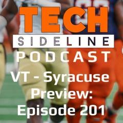 Virginia Tech - Syracuse Preview: Episode 201