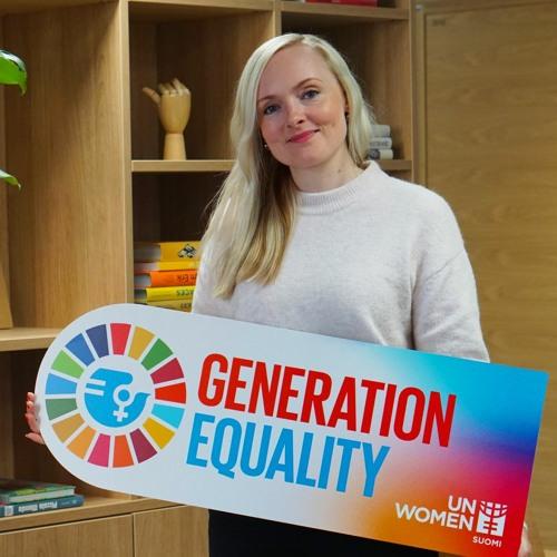 Generation Equality: Sisäministeri Maria Ohisalo - Naiset vaikuttajina ja tienraivaajina