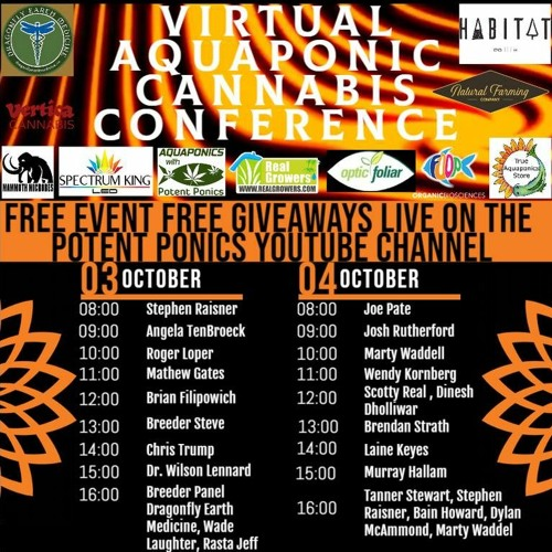 Aquaponic Korean Natural Farming With Chris Trump @ The Virtual Aquaponic Cannabis Conference