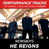 He Reigns (Performance Track In Key Of Bb)