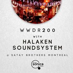 Halaken Soundsystem - When We Dip Radio #200 [26.6.21]