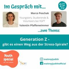 Mental Health Days Live Talk #3: Generation Z - gibt es einen Weg aus der Stres-Spirale?