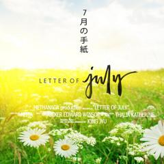 Letter of July