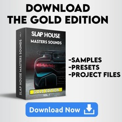 Slap House Masters Sounds Gold Edition - OUT NOW !