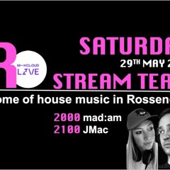JMac #016 Back In The Room 2 - Mix Cloud live 29th May 2021