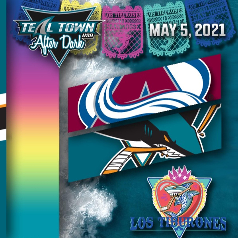 Colorado Avalanche vs San Jose Sharks - 5-5-2021 - Teal Town USA After Dark (Postgame)