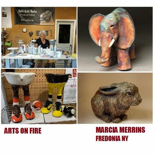 Arts on Fire - Chautauqua Region Artist Profile: Marcia Merrins, Fredonia NY