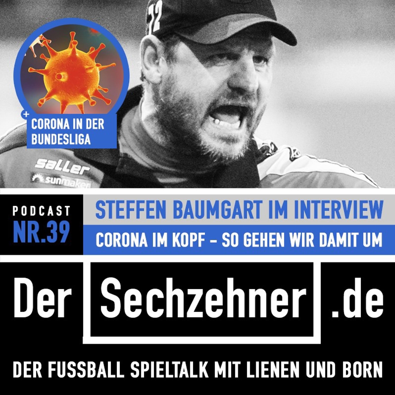 So lief der erste Corona-Fall in der BL: Steffen Baumgart im Sechzehner No.39