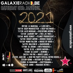 Phi Phi // Back To The OldSchool Part 2 // GALAXIE Radio Belgique // White Label // 02/01/2021