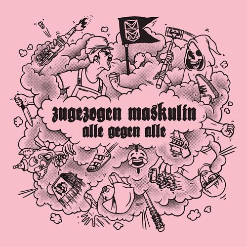 (German Hip-Hop, German Rap, Hip-Hop, Rap) Zugezogen Maskulin - Alle gegen Alle - 2017, MP3, 320 kbps