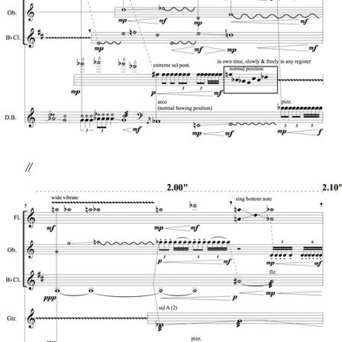 intimacy iv (after the fact) for Mixed Chamber Ensemble (2018)