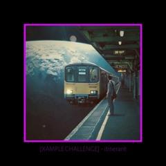 [XAMPLE CHALLENGE] - itinerant