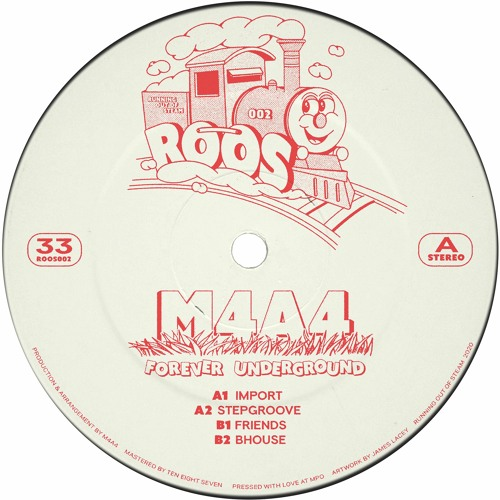 ROOS002 // M4A4 - Forever Underground EP