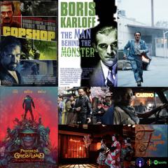 Copshop, Prisoners of the Ghostland, Boris Karloff: The Man Behind the Monster
