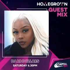 HOMEGROWN GUEST MIX FOR ROB BRUCE ON CAPITAL XTRA