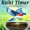 Reiki Timer 26 X 1 Minute Tibetan Singing Bowl Bell with Relaxation Birds in the Garden Background