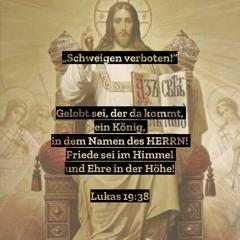 """2. Mai 2021 (Kantate) - """"Schweigen verboten"""" (Lukas 19,37–40)"""